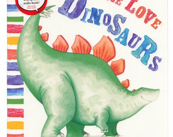 Signed Paperback Book: We Love Dinosaurs