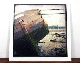 Boat #9 - Brittany - expo 30x30cm print - signed and numbered