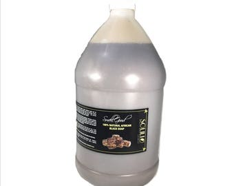 SmellGood - 1 Gallon Scented Liquid African Black Soap