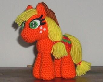 Applejack Crochet Plush