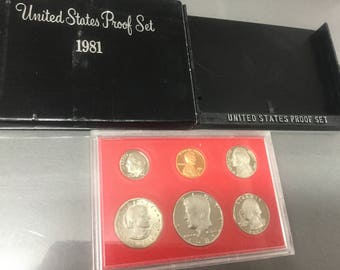 1981 United States proof