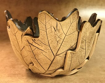 Medium Oak Leaf Bowl 178