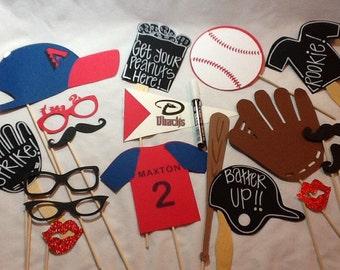 Mega Extra Large Customized Baseball Photo Booth Baseball Photo Props Wedding Photo Booth  with Chalk Boards and Chalk Marker