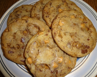 Homemade Butterscotch Toffee Cookies (2 Dozen)