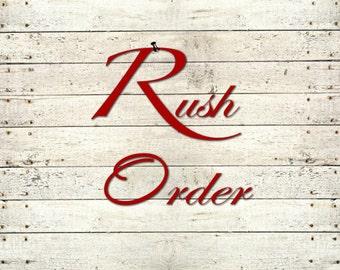 RUSH PRODUCTION FEE