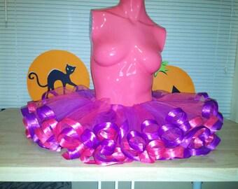 Cheshire cat tutu! Rave tutu. Cheshire cat costume. Festival season! Alice in Wonderland. Halloween costume!