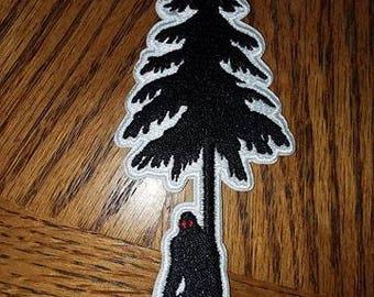 Tree Peeker... Bigfoot Patch