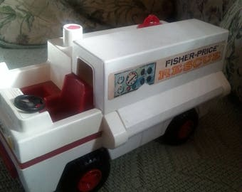 vintage fisher price rescue truck
