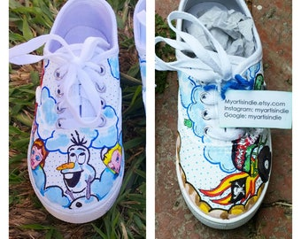 My Art Is Indie Customized Baby/Childrens Shoes!
