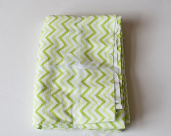 Green Chevron Fabric, Green Zig Zag Pattern, Apple Green Fabric, Pillow Making, Doll Clothes