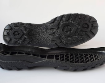 Rubber soles Black for your own projects  - Supply for shoes snow boots