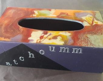 box has modern rectangular handkerchiefs