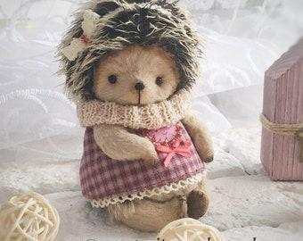 Jessy stuffed teddy hedgehog