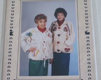 Donna's Country Collection- Amy's Jacket #206 pattern, vintage