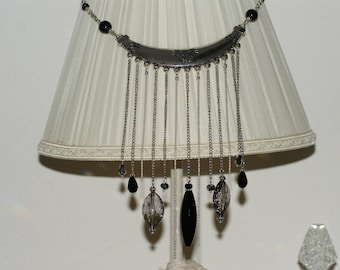 Necklace chains and faceted beads