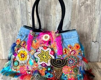 Stunning Louis Asscher handmade Ibiza bag - Designer bag