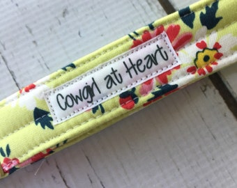Floral Wristlet Key Fob  Cowgirl at Heart accessories, Ready to Ship, Jennifer Paganelli fabric  fabric