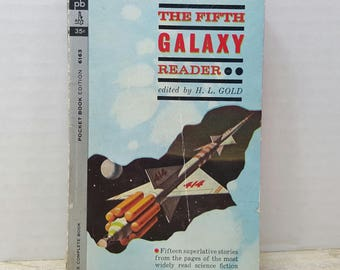 The Fifth Galaxy Reader, 1962, vintage sci fi