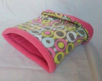 Snooze Sack in O's/Bubblegum Pink