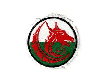 DRAGON 2 with a WELSH flavour Raggy Patch