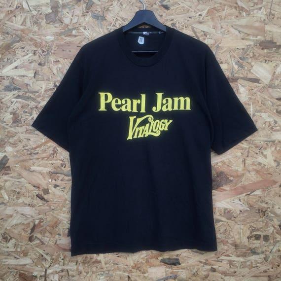 Rare !! PEARL JAM vintage 90s Pearl Jam Vitalogy 1994 studio album good old conditions tshirt YnxfZ7tbHp