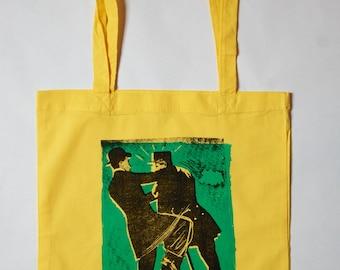 yellow Tote Bag - Police Pratique