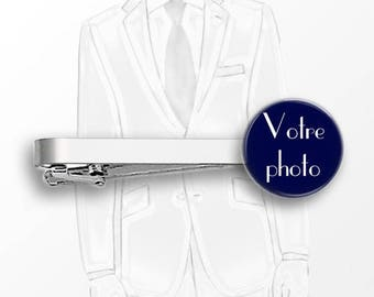 1 clip tie wedding - personalized with photo or text #1