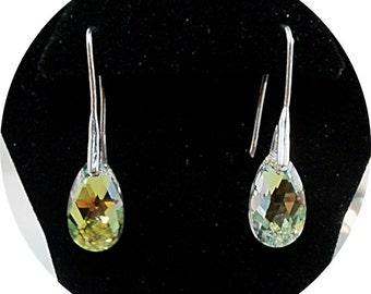 Crystal Earrings, Sparkly Earrings, Bridal Earrings, Bridesmaid Gift, Bridal Accessories, Dangle Earrings, Austrian Crystal, Prom Earrings