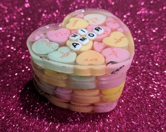 Candy Resin Hearts