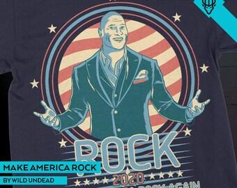 The Rock Dwayne Johnson 2020 - Make America Rock