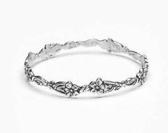 """Spoon Bangle Bracelet: """"Abigail"""" by Silver Spoon Jewelry"""