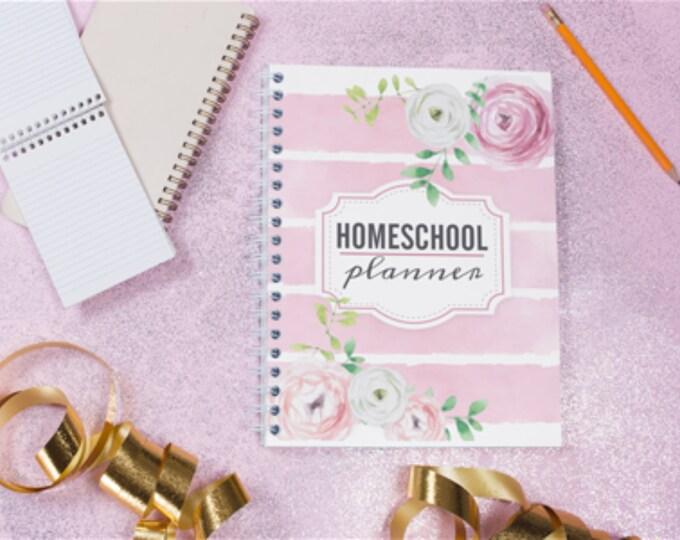 UNDATED Homeschool Planner   Teacher Planner   Weekly Planner   Planner Pages   Monthly Planner   Student Planner   Monday to Friday Planner
