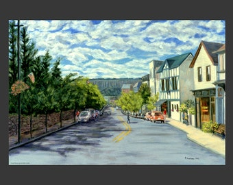 Dobbs Ferry: Main Street to Palisades by Ronnie Levine