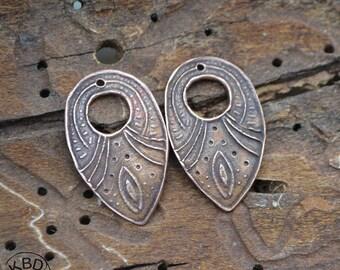 Copper Arrowhead Original Texture Component (one pair)
