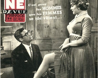 Marilyn Monroe Cary Grant   Cine Revue France Magazine   1952   Marilyn Monroe / Cary Grant Cover  other film stars inside !