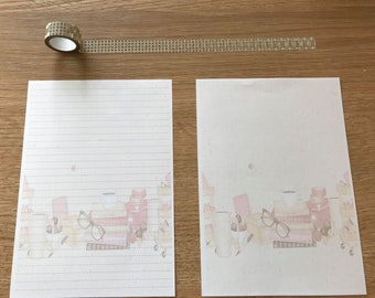 Planner Books Snail Mail Pen Pal Writing Paper