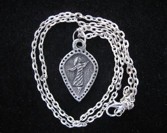St. Teresa of Avila, Patron of Dancers, Handmade Necklace