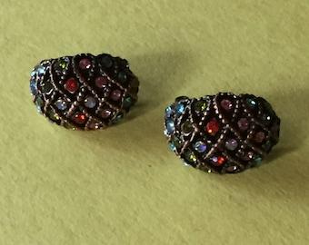 Jewelry, Earrings, Gemstones, Multicolor