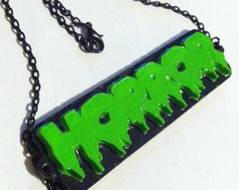 Horror Necklace