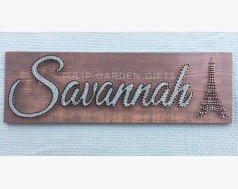 Name String Art, String Art Name, Name Wall Decor, Fiber Art Name, Thread Art Name, Nail Art Name
