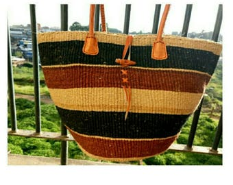 African Bag, African Tote bag, African Purse and African Handbag