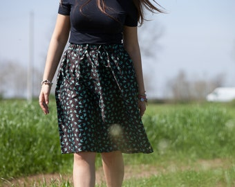 Annecy skirt with origami