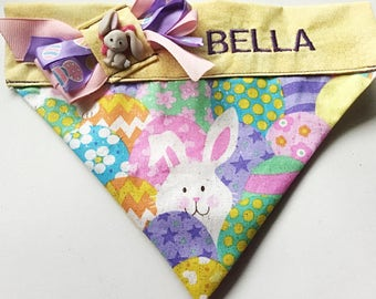 Easter Bunny Bandana for Dogs and Cats