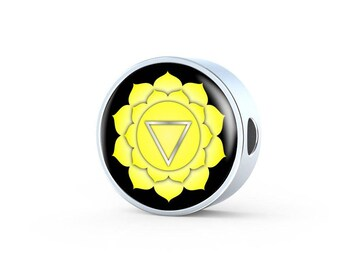 Solar Plexus Chakra (Manipura) - Luxury Charm