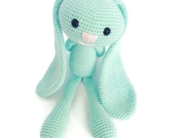 Easter Bunny - Newborn Stuffed Animal - Memory Keepsake - Stuffed Plush Toy - Bunny Toy - Kawaii Plush - Stuffed Bunny - Handmade Bunny