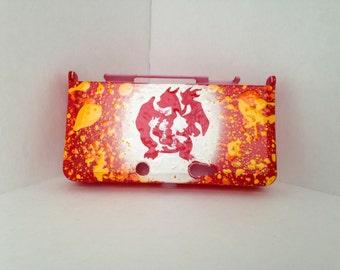 Charizard Evolution Custom 3DS Hard Case - Fire Starter