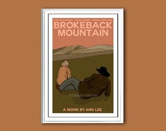 Brokeback Mountain movie poster print in various sizes