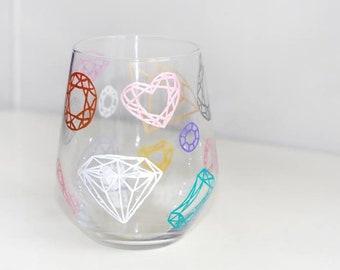 Unique hand painted cups, glasses etc.