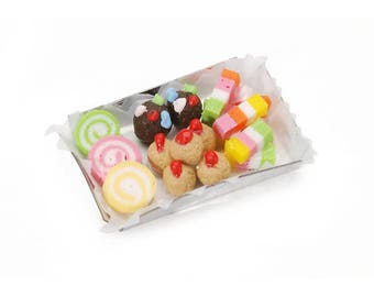 Miniature - Candy Tray - 1.25 inches and Cookie Tray  1.38 inches - perfect together, don't you agree???