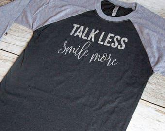 Talk less smile more|Hamilton shirt|Alexander Hamilton shirt|Aaron Burr Sir|Musical shirt